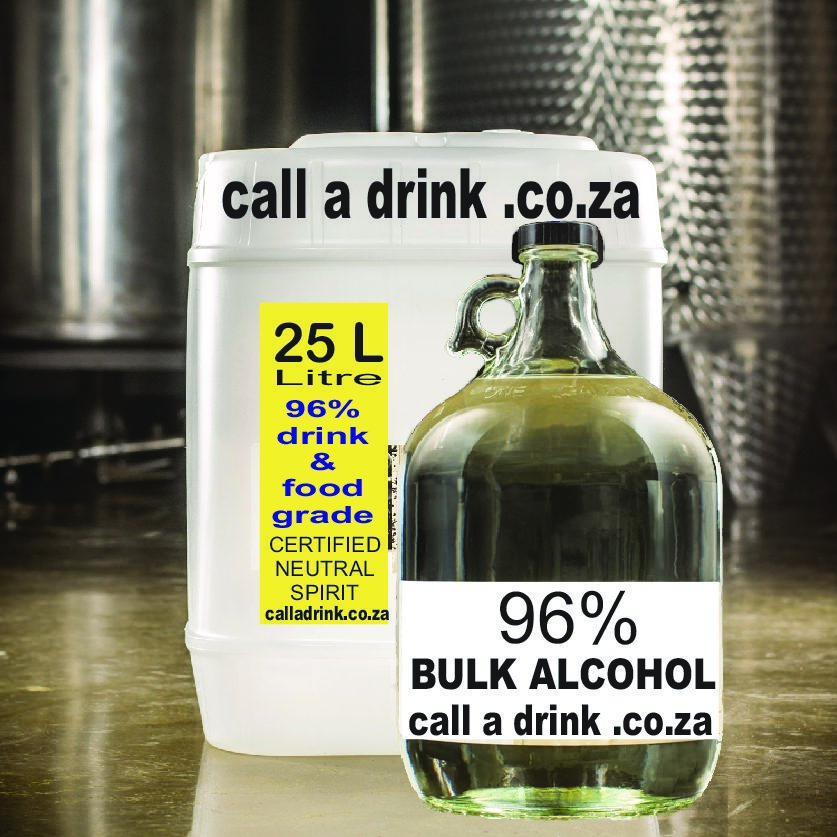 ROYAL VODKA 96% BULK 25 LITRE R349/750ml